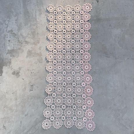 VTG Crochet place mat / Ecru ①