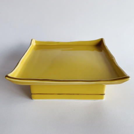 VTG Square yellow plate