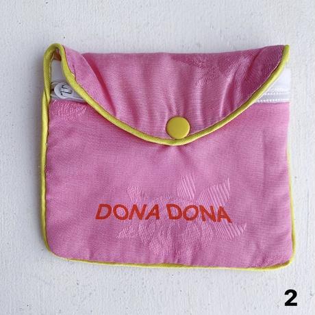 DONADONA printed rose jqd pouch small