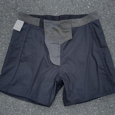 INHERIT BY SADE Traditional board shorts Black