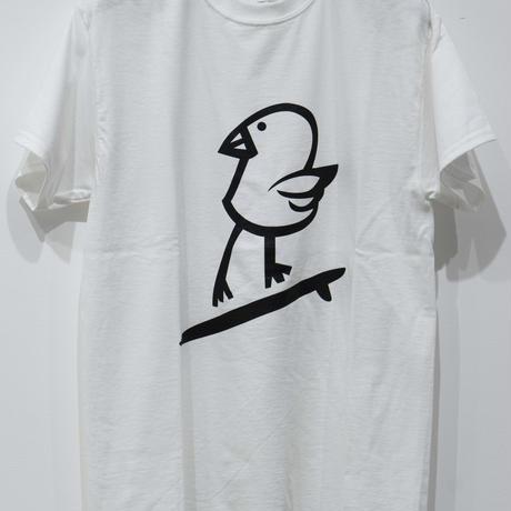 "DISKAH ""KILLY BIRD"" T-shirt WHITE"