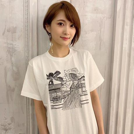 【Tシャツ】J-POP COVERNIGHT Vol.1 ジャケットTシャツ (ホワイト・モノクロ)