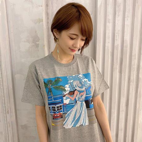 ⭐️在庫限り‼︎ ¥1,000 OFF!!!!!!!【Tシャツ】J-POP COVERNIGHT Vol.1 ジャケットTシャツ (グレー・カラー)