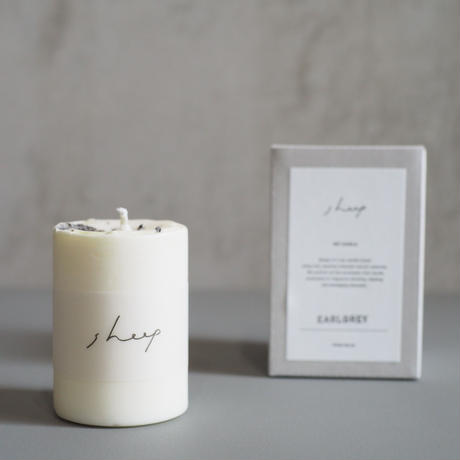 SOY CANDLE /EARL GREY  SS【SHEEP】