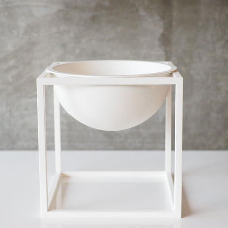 Kubus Bowl Small / White【by lassen】