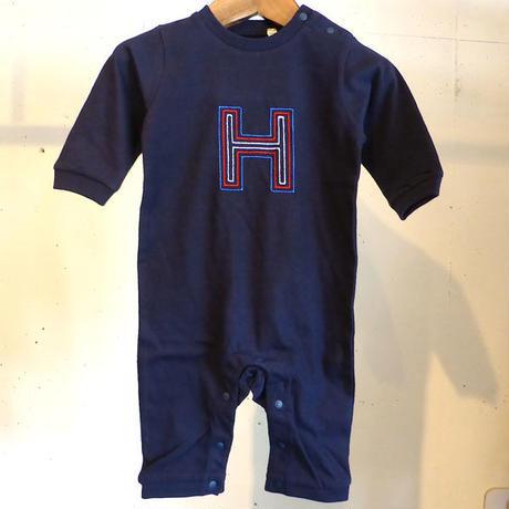 MOMENT(モーメント) 名入れ刺繍ロンパース H