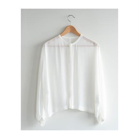 【humorespue】collarless blouse