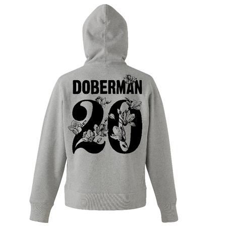 20執念 DOBERMANパーカー(グレー)