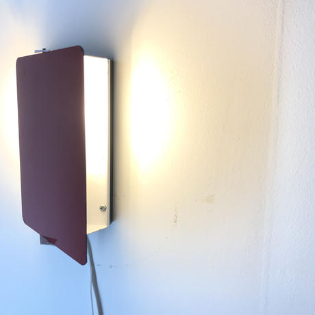 """Sconce """"CP-1"""" Red ②"""