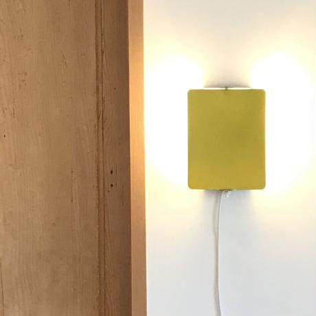 """Sconce """"CP-1"""" Yellow ③ / Charlotte Perriand"""
