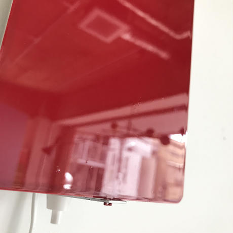 """Sconce """"CP-1"""" Red ④ / Charlotte Perriand"""