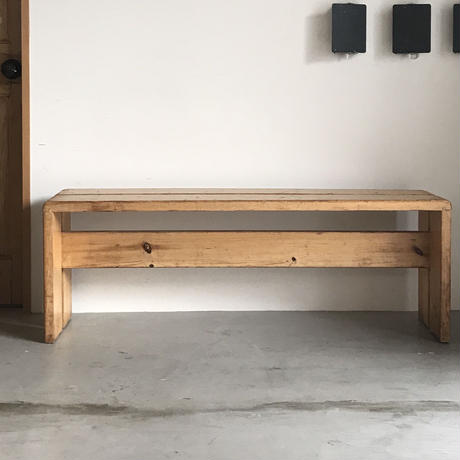 "2 Planks Bench for ""Les Arcs""-2 / Charlotte Perriand / 1970s"