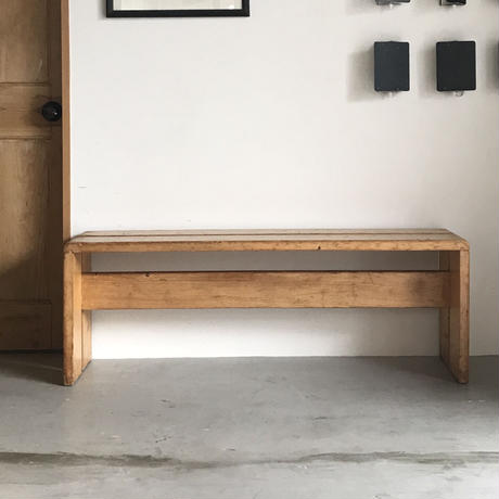 """2 Planks Bench for """"Les Arcs""""-1 / Charlotte Perriand / 1970s"""
