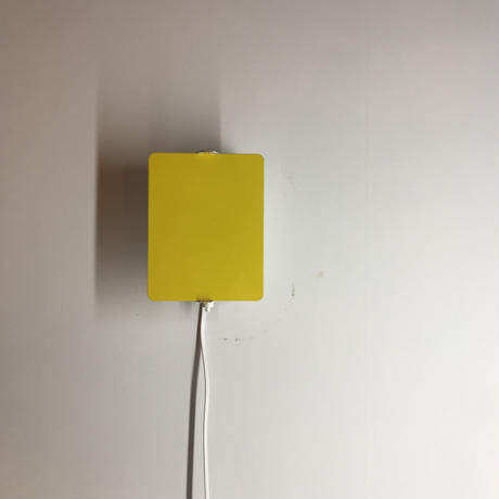"""Sconce """"CP-1"""" Yellow"""