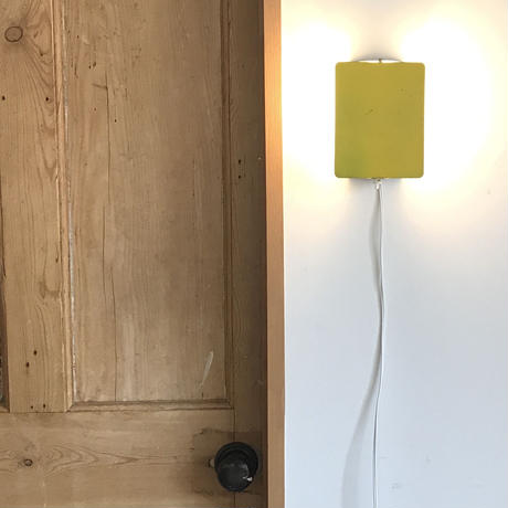 """Sconce """"CP-1"""" Yellow ④ / Charlotte Perriand"""