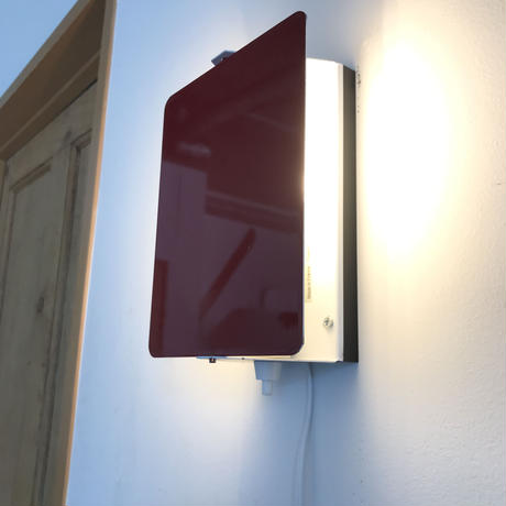 """Sconce """"CP-1"""" Red ③ / Charlotte Perriand"""