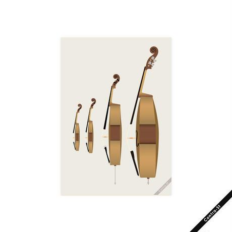 ヴァイオリン・ヴィオラ・チェロ・コントラバス