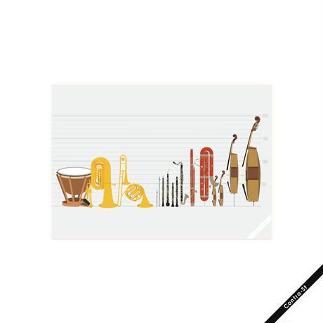 オーケストラの楽器