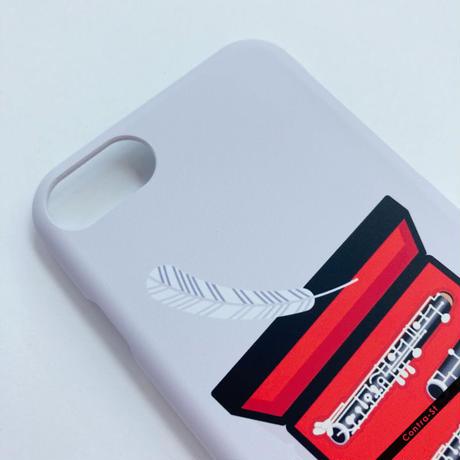 カバー型iPhoneケース[オーボエ]11 / 11pro max / XR / XS max / 8plus / 7plus/ 6plus