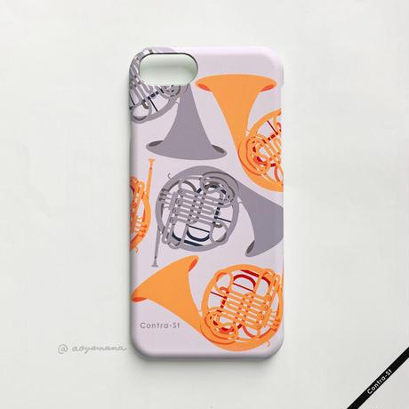 カバー型iPhoneケース[ホルン]11 / 11pro max / XR / XS max / 8plus / 7plus/ 6plus