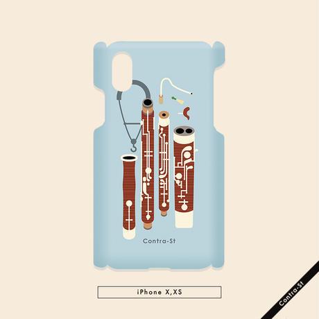 カバー型iPhoneケース[ファゴット]11pro / X / XS / 8 / 7 / 6 / 6s / SE(第2世代)