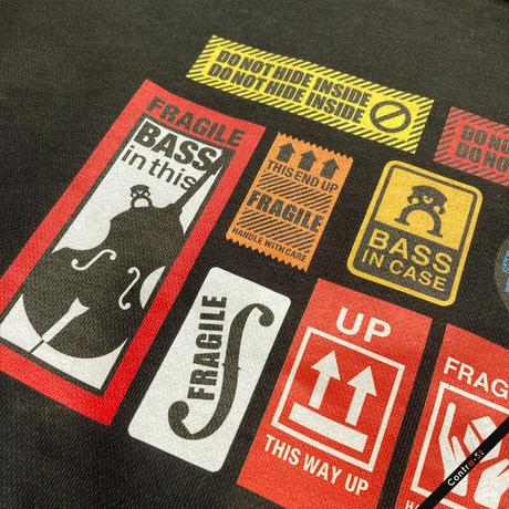 Bass Stickerスウェット[ブラック]