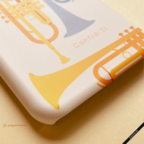 カバー型iPhoneケース[トランペット]11pro / X / XS / 8 / 7 / 6 / 6s / SE(第2世代)