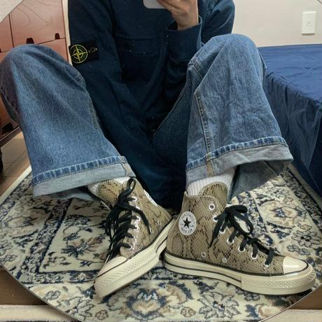 CT70 NEW SNAKE SKIN LEATEHR(レザー)HI CUT 170103C