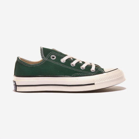 CT70 MID NIGHT CLOVER GREEN LOW CUT 168513C