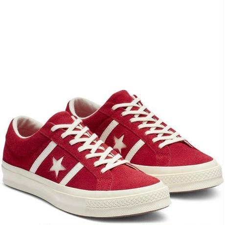 ONE STAR ACADEMY SUEDE RED 163270C