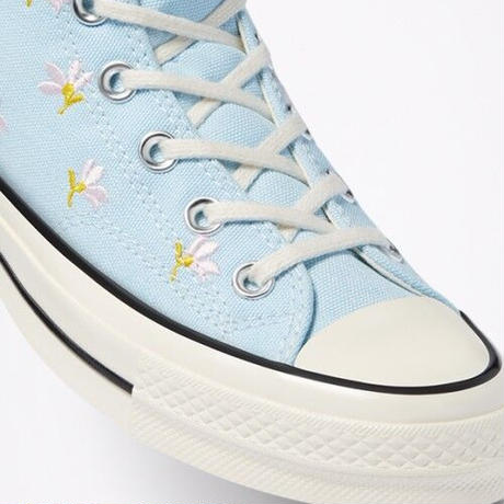 CT70 FLOWER PRINT BLUE HI CUT 570917C