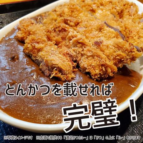 【ヒレかつ2枚】満足かつカレーセット2食分