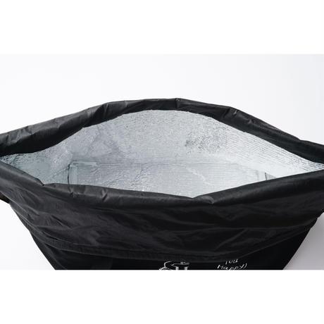 クックマ保冷カゴバッグ  |  ブラック