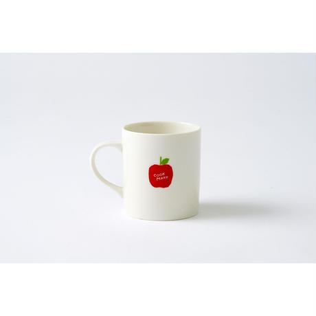 マグカップ   りんごを持ってるクックマ