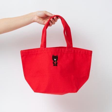 クックマ刺繍ランチバッグ  |  フレンチレッド
