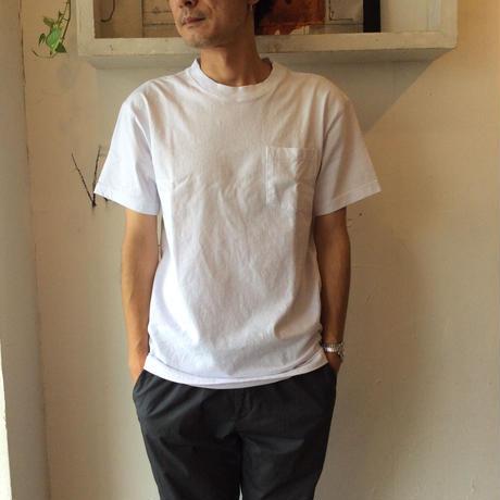 ●送料全国一律198円●<men>MAKERS(メーカーズ) 10OZ ヘビーウエイトポケットTシャツ MAKE0001/ホワイト