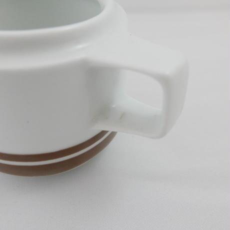 旧東ドイツ ミルクピッチャー 茶色