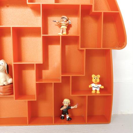 旧西ドイツ おもちゃ飾り棚