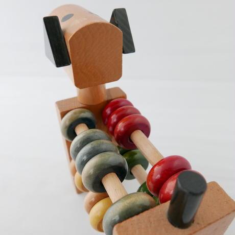 木製おもちゃ わんちゃん