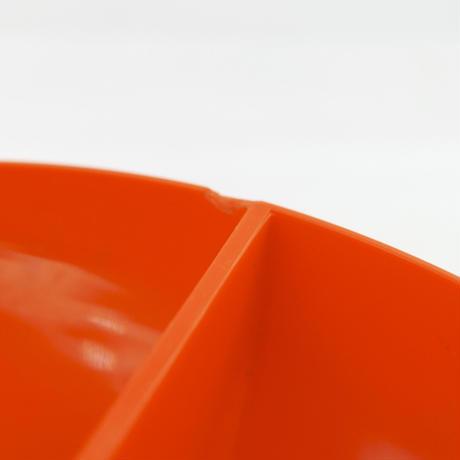 オレンジの小物用皿