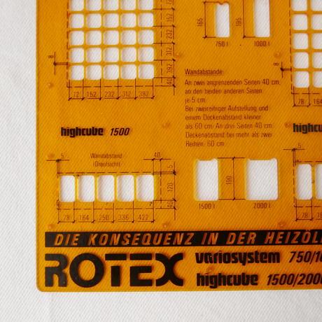 ドイツ製 製図用定規