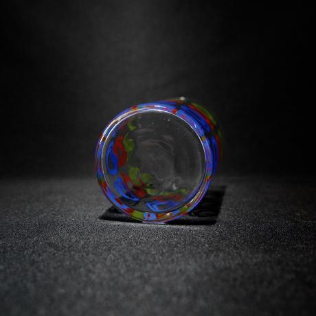 グラス バブル柄