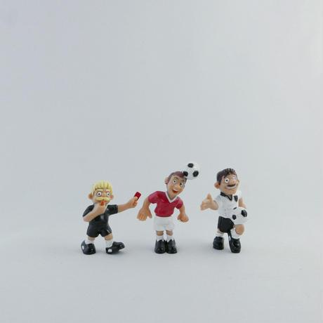 サッカーチーム フィギュアセット