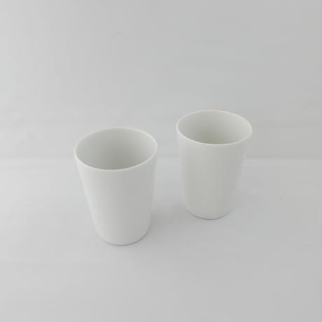 白磁 コップ 2個組