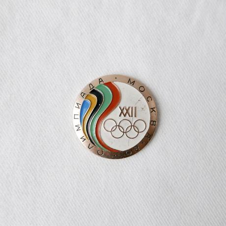 モスクワオリンピック バッジ