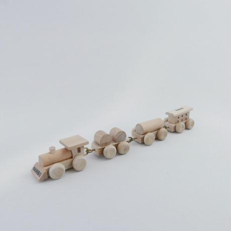HARIBO 木のミニ機関車