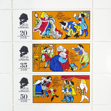 旧東ドイツ切手『裸の王様』