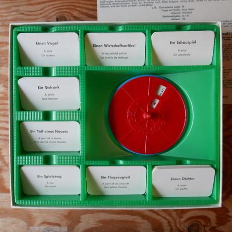 旧西ドイツ製ボードゲーム