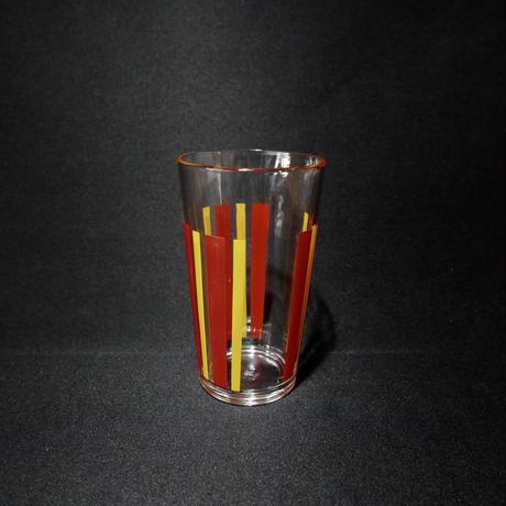 グラス 赤と黄色