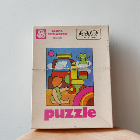 旧東ドイツ製ジグソーパズル